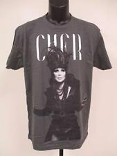 New Cher Mens Slim-fit Adult Sizes S-M-L-XL-2XL Band Concert Shirt