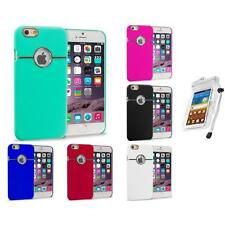 For Apple iPhone 6 (4.7) Hard Deluxe Chrome Case Cover Accessory Waterproof Bag