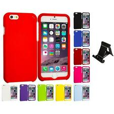 For Apple iPhone 6 Plus 5.5 Hard Snap-On Protective Case Cover Stand Mount