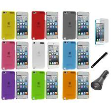 Color Ultra Thin Hard Cover Case+LCD+Charger+Pen for iPod Touch 5th Gen 5G 5