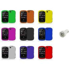 For Sprint Kyocera Milano C5120 Color Hard Snap-On Skin Case Cover+Dual Charger