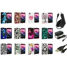 For LG Google Nexus 5 Design Hard Snap-On Case Cover Accessory+3X Chargers