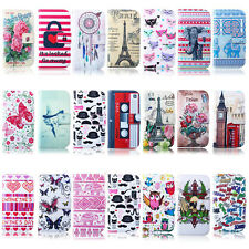 Waffa- For Apple iPhone 6 6s Wallet Flip Leather Card Hold Pouch Case Cover