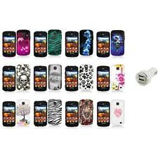 For Samsung Proclaim S720C Illusion Color Hard Design Case Cover+Dual Charger