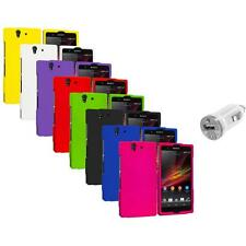 For Sony Xperia Z L36i L36h Hard Case Cover USB Charger