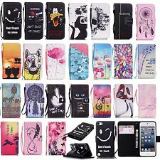 BOYA 2016 New patterned wallet case stand flip cover for apple itouch iphone