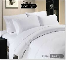 OFFER - 800 1000 1200 TC 100% Egyptian Cotton Hotel Super Soft White in Striped