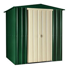 Lous 6x3 PremiumApex Metal Garden Shed With Accessory Options