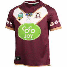 Manly Sea Eagles NRL 2016 ISC Heritage Jersey Adult Sizes S-5XL & Kids 6-14!