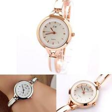 Women Girl Elegant Bracelet Watch Quartz OL Ladies vintage stylish Wrist Watch