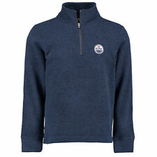 Edmonton Oilers Gray Box Alta Quarter-Zip Jacket