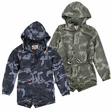 SALE ITEM WAS £49.99 Brave Soul MJK Spottercamo Camo Military Jacket Coat