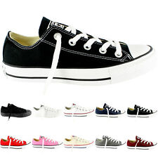 Womens Converse All Star Ox Low Chuck Taylor Chucks Sneakers New US Sizes 5-9.5