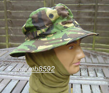S95 BRITISH ARMY SURPLUS ISSUE G1 WOODLAND DPM CAMOUFLAGE BUSH HAT,BOONIE CAP