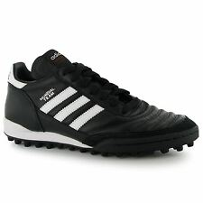 Adidas Mundial Team Mens Astro Turf Trainer Blk/Wht Football Soccer Boots