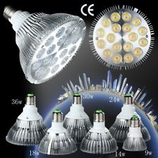 E27 PAR20 PAR30 PAR38 LED Flood Light Bulb Lamp Dimmable 3/9/14/18/24/30/36W