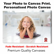 """Your Photo Picture Canvas Print - Personalised Canvas Ready to Hang 30"""" x 20"""" A1"""