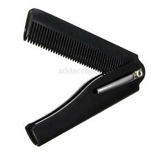 Fashion Mens Womens Handmade Folding Pocket Hair Moustache Beard Grooming Comb