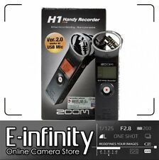 SALE NEW Zoom H1 Ultra-Portable Digital Audio Recorder EXPRESS SHIP!!