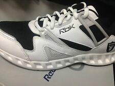 "Oakland Raiders Reebok ""Trainer"" Shoes with Shield"