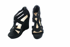 Lindy-3 Platform Wedge Sandal  Open Toe Strappy High Heel Pump  Shoes Size 5-10