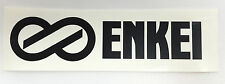 "Enkei Wheels High Quality Vinyl Decal 8"" x 2"" (Multiple Colors)"