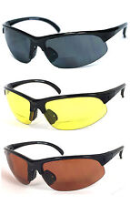 BIFOCAL VISION READING GLASSES SUNGLASSES - 378BF RG05 - Various Color and Power
