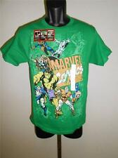NEW Captain America Hulk Thor Wolverine Marvel Youth Sizes S-M-L-XL Shirt