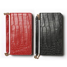 Zenus Croco Pattern Leather Wallet Diary Cover Case For Samsung Galaxy Note4