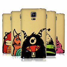 HEAD CASE DESIGNS DOODLE FACE MONSTERS BATTERY COVER FOR SAMSUNG PHONES 1