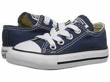 Toddler Converse Chuck Taylor All Star OX 7J237 Navy 100% Authentic Brand New