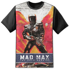 Mad Max Mel Gibson 1979 Road Warrior MFP Pursuit Distressed T Shirt Poster DVD