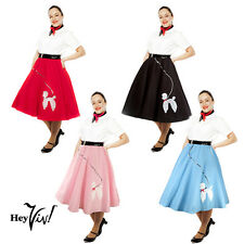 4 Piece Plus Size Poodle Skirts - Wholesale Prepack Lot - Costume or for Resale