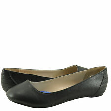 Women's Shoes Qupid Ritzy 21 Classic Career Ballet Flats Black *New*