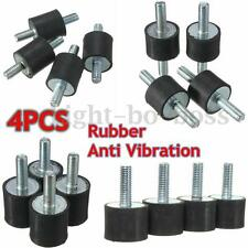 4PCS M5/M6/M8 Anti Vibration Rubber Mounts Isolators Bobbins Silentblock Pump