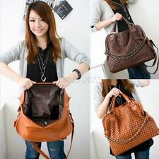 Large Womens Casual Satchel Totes PU LEATHER Shoulder Bags Messenger Handbag Bag