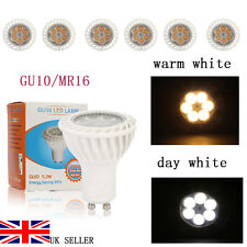 4/6W LED Spot light Bulbs Super Ultra Bright High Power GU10/MR16 Day/Warm White