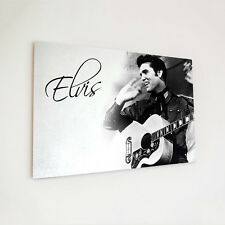 Wooden plaque Elvis Presley Guitar Wave A4 Custom Personalised Gift Shabby Chic