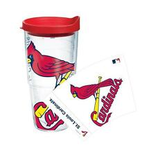 St. Louis Cardinals 24oz Tervis Tumbler w/ Lid - Clear or Colossal Wrap