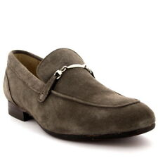 Mens H By Hudson Navarre Suede Slip On Smart Office Work Loafers Shoes UK 6-12