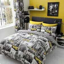 New York Patchi Duvet Cover Quilt Cover Bedding Set All Sizes With Pillowcases