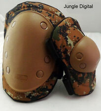 NEW Military Tactical Army Paintball Combat Skate Protection Elbow Knee Pads .