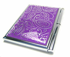 Paisley Memo Book NOTEPAD CASE w/Pen
