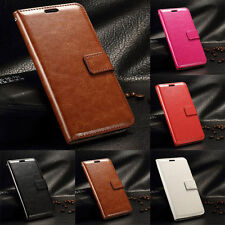 Magnetic Flip Stand Case Leather Card Solt Cover Wallet For Various Smart Phone