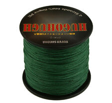 2016 Dark Green PE 100-1000M 6-300LB Dyneema Power Pro Super Braid Fishing Line
