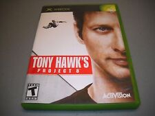 Tony Hawk's Project 8 (Microsoft Xbox, 2006) Complete Skating Game Tested/Works!