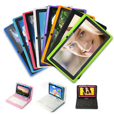"""8/16GB Multi-Color 7"""" Google Android 4.2 Dual Core Cam Tablet PC WIFI + Keyboard"""