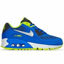 Nike Air Max 90 GS Blue Youths Trainers - 307793-409