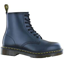 Dr.Martens 1460z Blue 8 Eyelet Leather Womens Boots