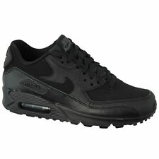 Nike Air Max 90 GS Black Black Youths Trainers - 307793-091